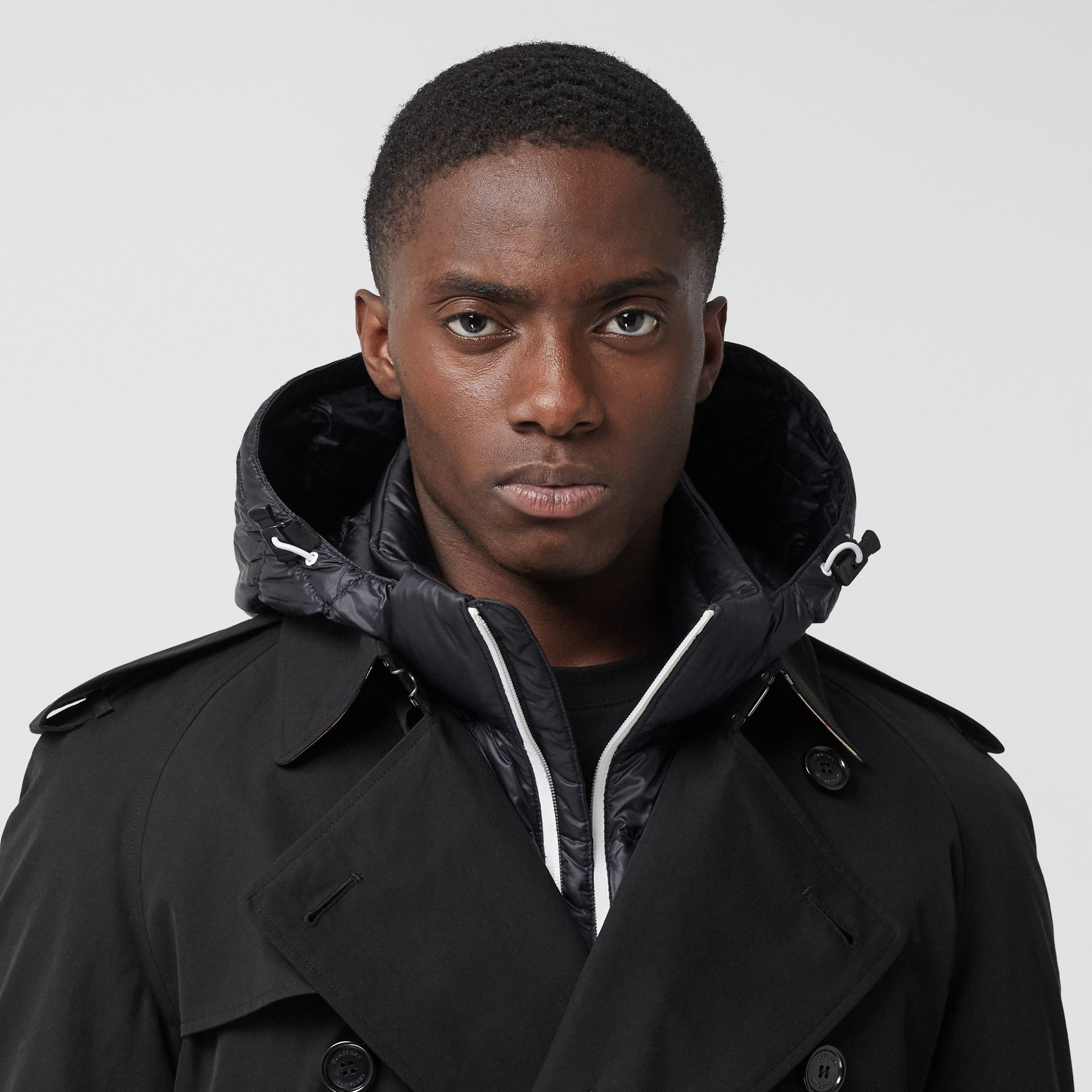 The Westminster Heritage Trench Coat in Black - Men | Burberry United States - gallery image 10