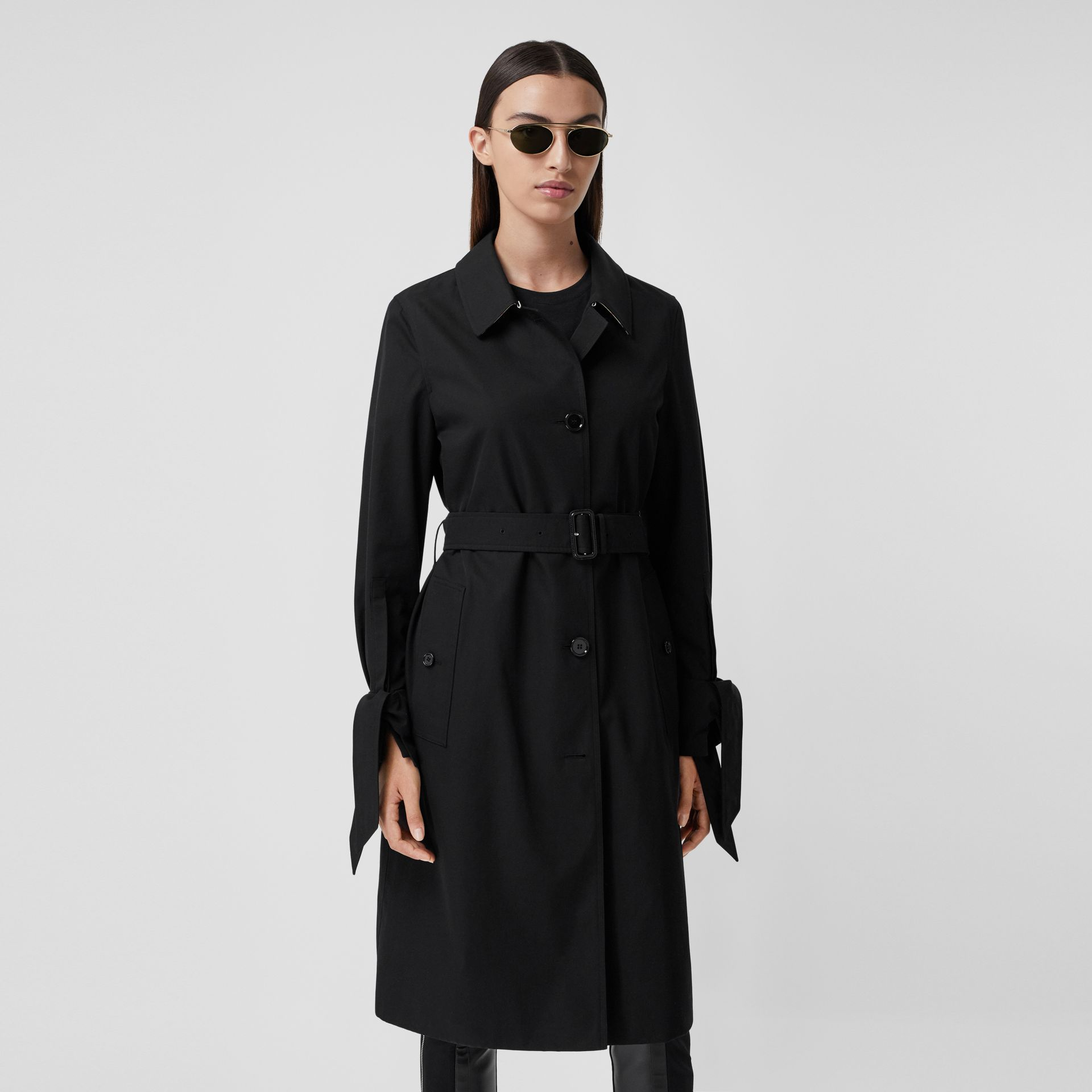 Tropical Gabardine Car Coat - Women | Burberry - gallery image 7