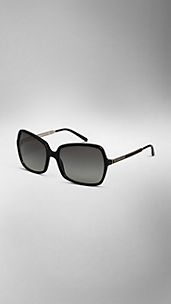 Square Frame Acetate Sunglasses