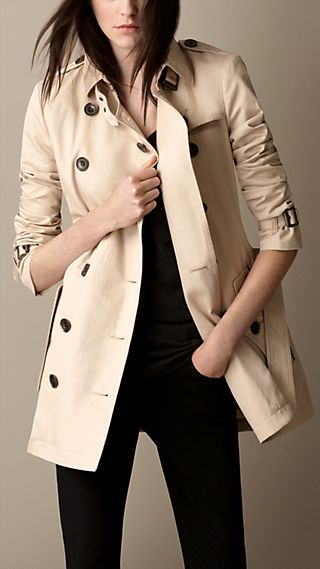 Detachable Warmer Cotton Trench Coat