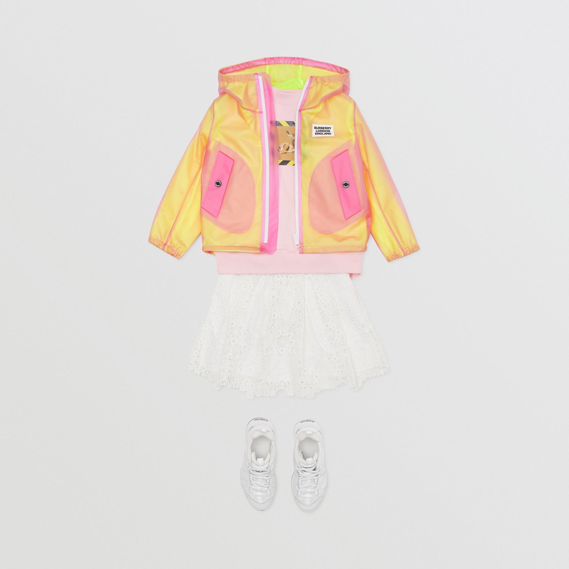 ロゴプリント ライトウェイト フーデッドジャケット (ラズベリーピンク)   バーバリー - ギャラリーイメージ 3
