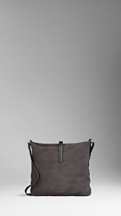 Hunting Suede Crossbody Bag