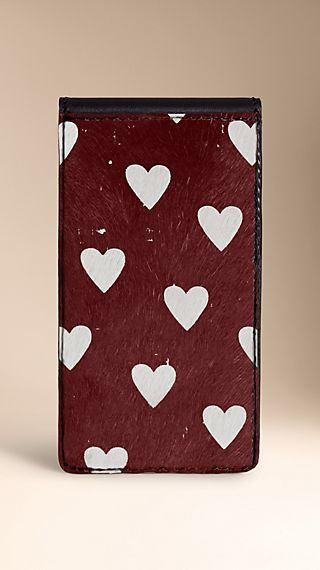 Heart Print iPhone 5/5s Case