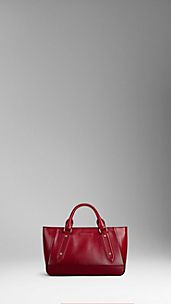 Small Patent London Leather Tote Bag