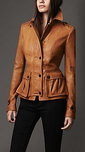Fitted Lambskin Jacket