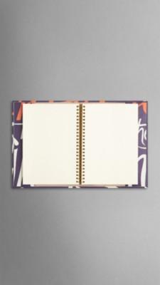 摄政紫 手绘书封皮质封面 a5 笔记本 - 图 4