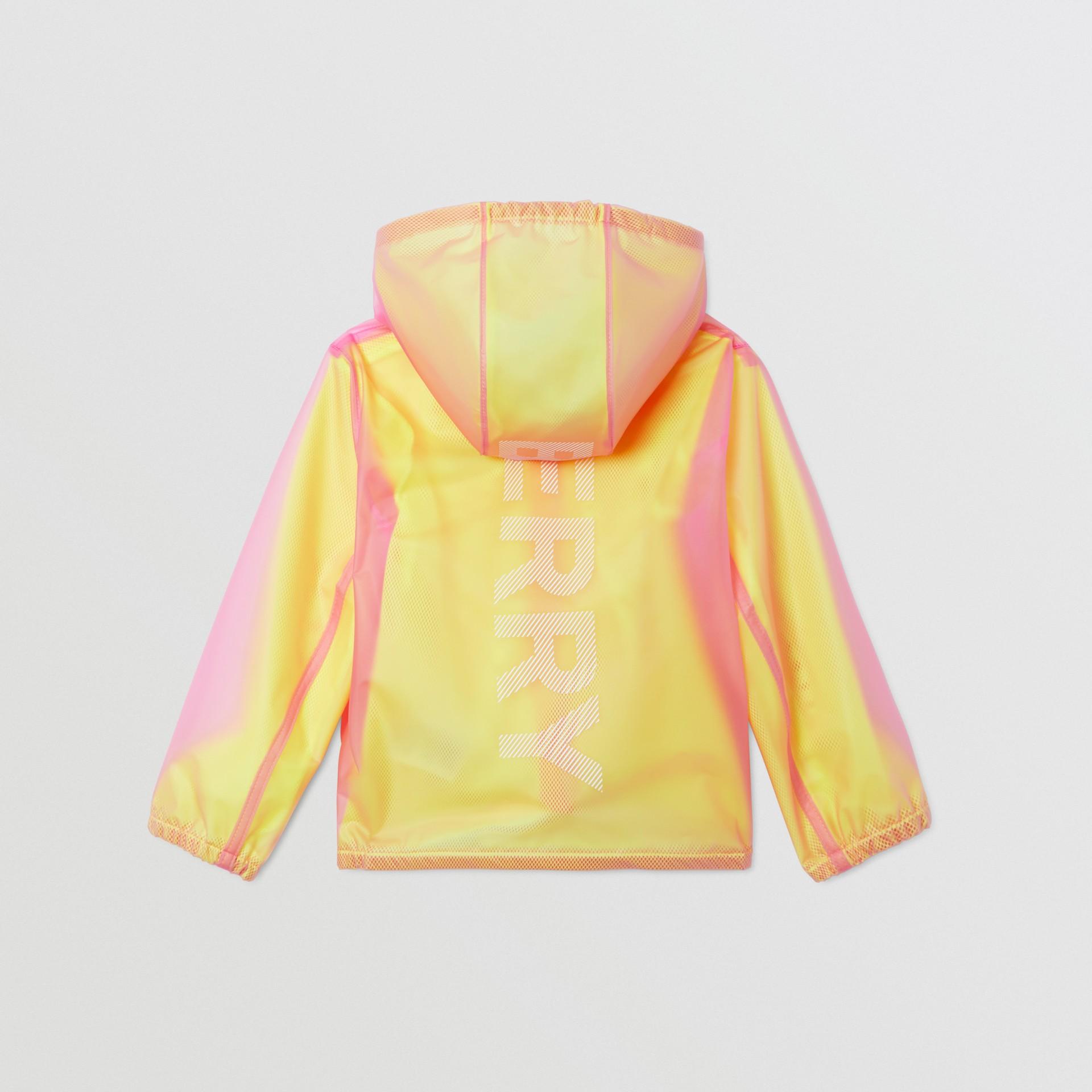 ロゴプリント ライトウェイト フーデッドジャケット (ラズベリーピンク)   バーバリー - ギャラリーイメージ 4