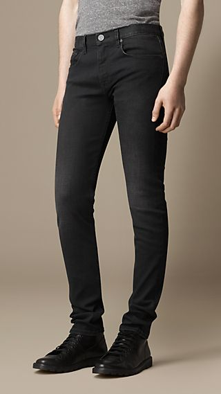 Shoreditch Black Skinny Fit Jeans