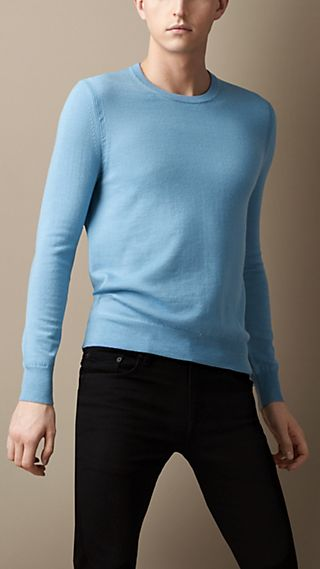 Check Elbow Patch Sweater