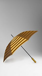 Metallic Stripe Umbrella