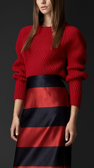 Sculptural Cashmere Sweater