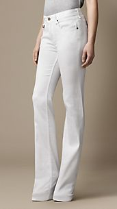 Chelsea Optical White Bootcut Jeans