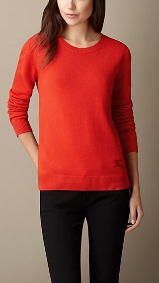 Cashmere Cotton Sweater