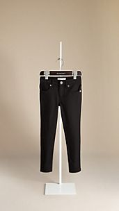 Skinny Fit Stretch Jersey Trousers