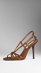 Heritage Detail Leather Sandals