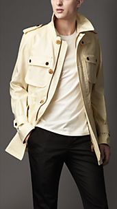 Rainwear Cotton Field Jacket
