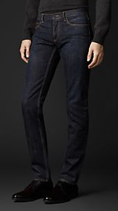 Skinny Fit Selvedge Denim Jeans