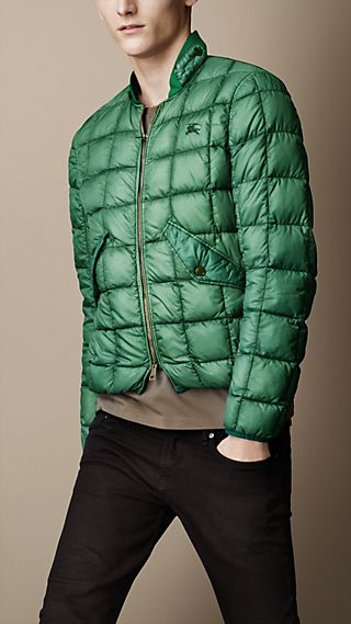 Down-Filled Quilted Bomber