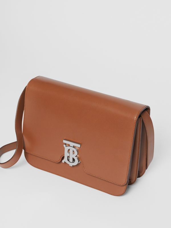 Medium Leather TB Bag in Malt Brown - Women | Burberry Australia - cell image 3
