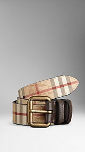 Haymarket Check Belt