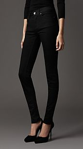 Milbourne Black Rinse Skinny Fit Jeans