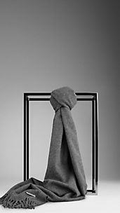 Brushed Cashmere Scarf