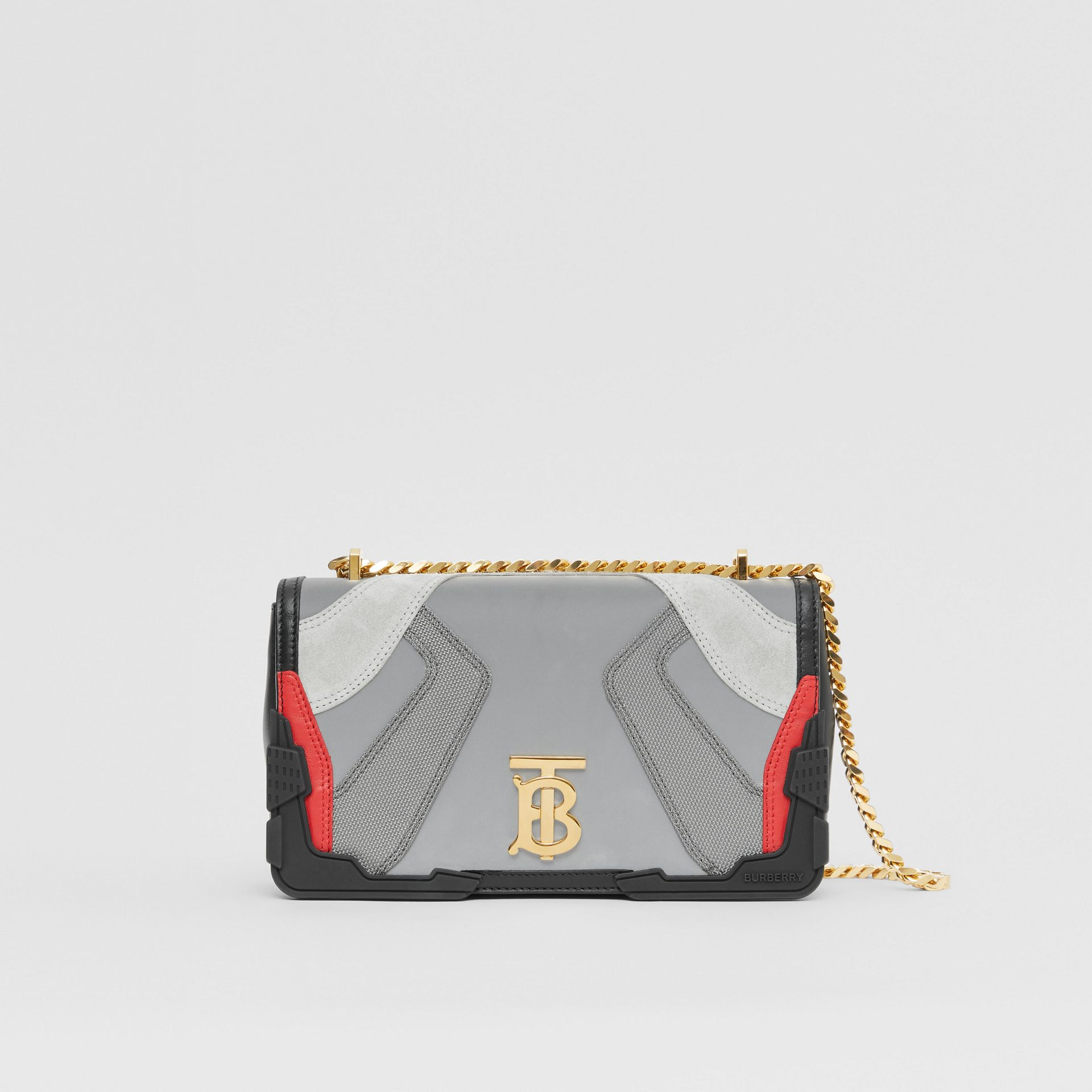 Small Appliqué Leather Lola Bag in Multicolour - Women | Burberry - gallery image 0
