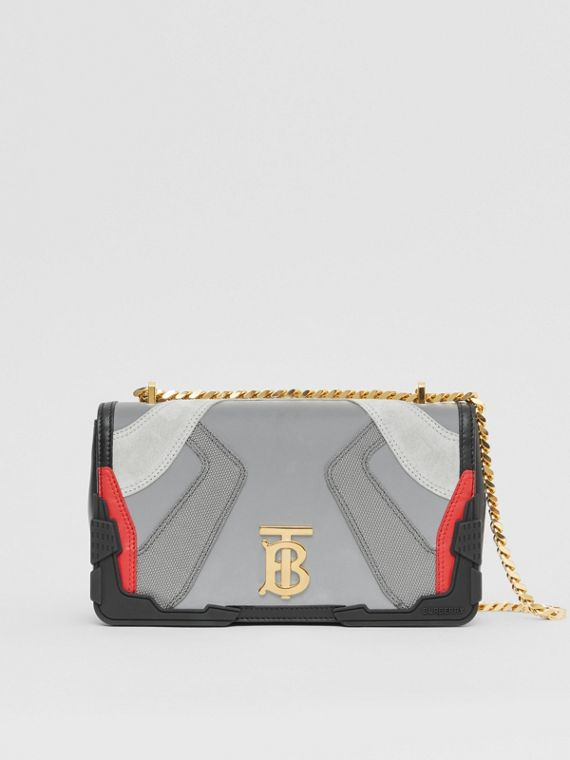 Small Appliqué Leather Lola Bag in Multicolour