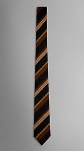 Striped Silk Tie