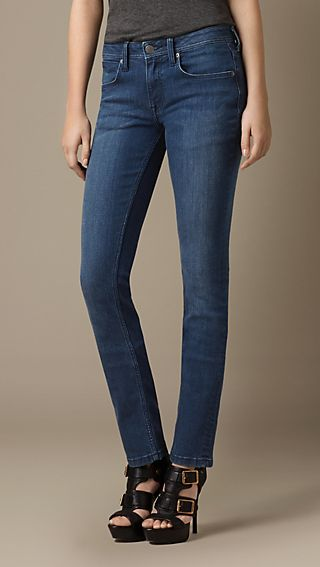 Earlham Mid-Indigo Straight Fit Jeans