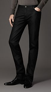 Steadman Black Slim Fit Jeans