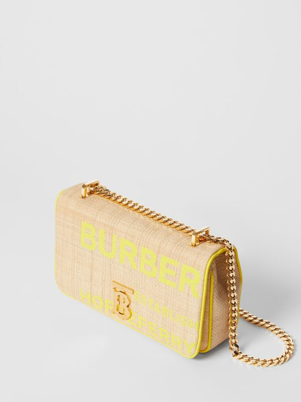 Small Horseferry Print Quilted Raffia Lola Bag - Women | Burberry United States - cell image 3