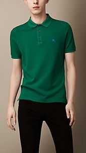 Cotton Jersey Double Dyed Polo Shirt