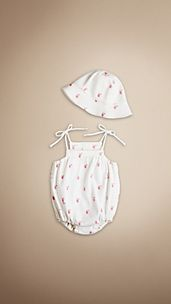 Burberry Baby Knight Bodysuit Set