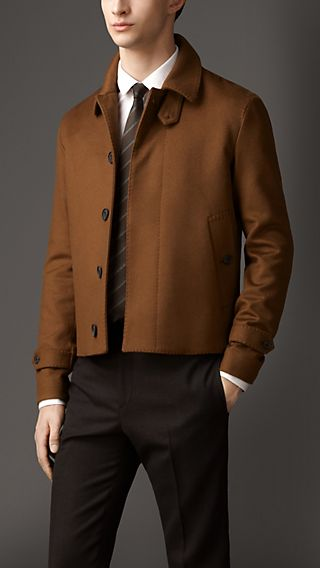 Cashmere Harrington Jacket