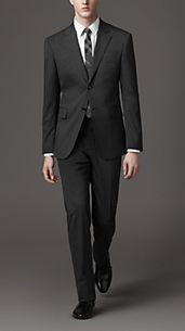CLASSIC FIT PRINCE OF WALES CHECK SUIT