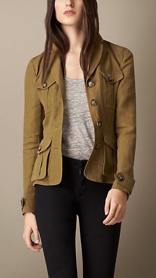 Linen Field Jacket