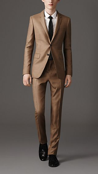 Slim Fit Lightweight Cashmere Suit