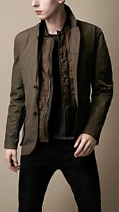 Detachable Warmer Jacket