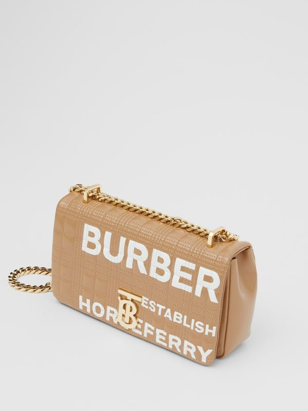 Small Horseferry Print Quilted Lola Bag - Women | Burberry - cell image 3