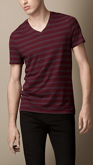 Liquid Soft Cotton Striped T-Shirt
