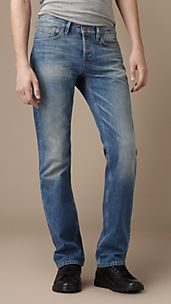 Steadman Vintage Wash Slim Fit Jeans