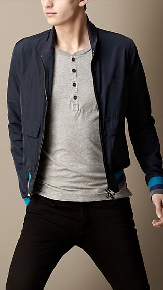 Shawl Collar Bomber Jacket