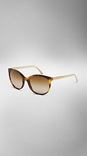 Spark Tortoiseshell Cat-Eye Sunglasses