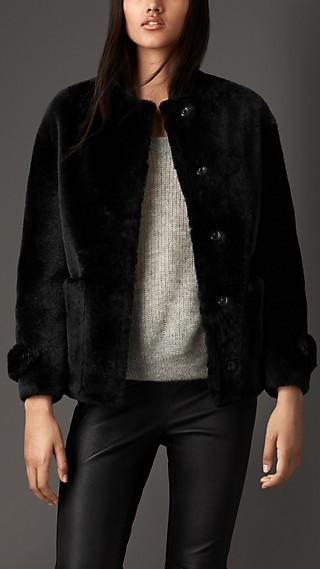 Reverse Shearling Jacket