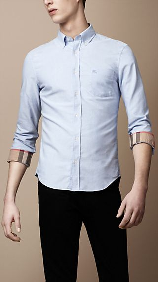 Button-Down Cotton Shirt