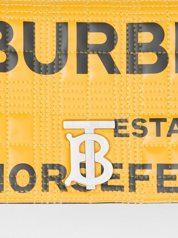 Bolso Lola pequeño acolchado con estampado Horseferry (Amarillo)   Burberry - cell image 1