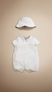 Cotton Playsuit Set