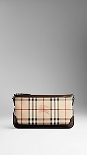 Small Haymarket Check Clutch Bag