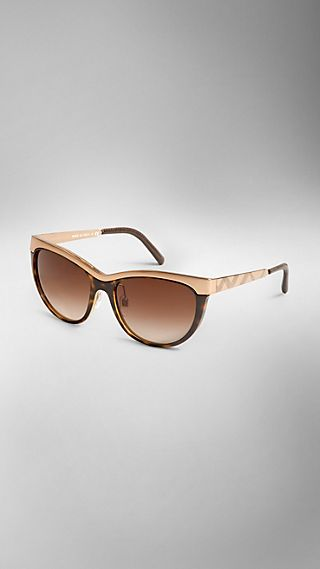 Trench Collection Cat-Eye Sunglasses